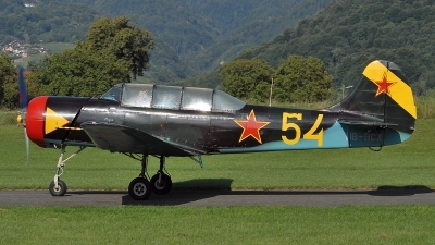 Photo ID 72491 by Martin Thoeni - Powerplanes. Private Private Yakovlev Yak 18A, HB RCX