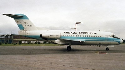 Photo ID 71653 by Carlos Ay. Argentina Navy Fokker F 28 3000C Fellowship, 0742