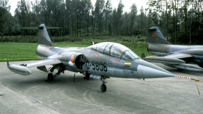 Photo ID 71663 by Joop de Groot. Netherlands Air Force Lockheed TF 104G Starfighter, D 5806