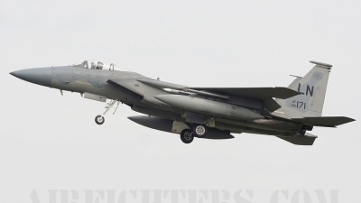 Photo ID 9047 by lee blake. USA Air Force McDonnell Douglas F 15C Eagle, 86 0171