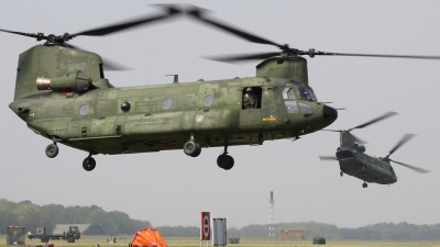Photo ID 72250 by Olli J.. Netherlands Air Force Boeing Vertol CH 47D Chinook, D 106