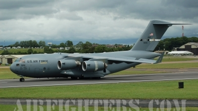 Photo ID 9058 by Chris Milne. USA Air Force Boeing C 17A Globemaster III, 06 6161