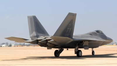 Photo ID 72257 by Peter Boschert. USA Air Force Lockheed Martin F 22A Raptor, 00 4016
