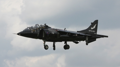 Photo ID 72411 by Barry Swann. UK Navy British Aerospace Harrier T8, ZD990