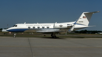 Photo ID 72378 by David F. Brown. USA Air Force Gulfstream Aerospace C 20B Gulfstream III, 86 0200