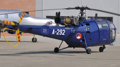 Photo ID 72409 by frank van de waardenburg. Netherlands Air Force Aerospatiale SA 316B Alouette III, A 292