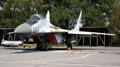 Photo ID 72513 by Carl Brent. Ukraine Air Force Mikoyan Gurevich MiG 29, 46 RED