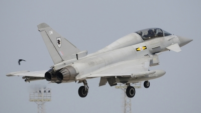 Photo ID 72478 by Andrew Evans. UK Air Force Eurofighter EF 2000 Typhoon T3, ZJ808