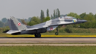 Photo ID 72544 by Andreas Zeitler - Flying-Wings. Poland Air Force Mikoyan Gurevich MiG 29UB 9 51, 28