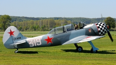 Photo ID 72871 by Klemens Hoevel. Private Private Yakovlev Yak 52TD, LY AXN