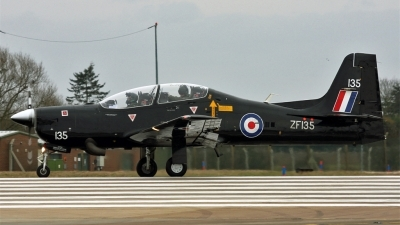 Photo ID 72899 by PAUL CALLAGHAN. UK Air Force Short Tucano T1, ZF135