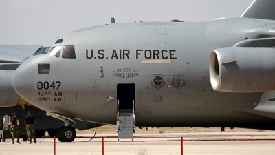 Photo ID 72945 by Mark. USA Army Air Force Boeing C 17A Globemaster III, 97 0047