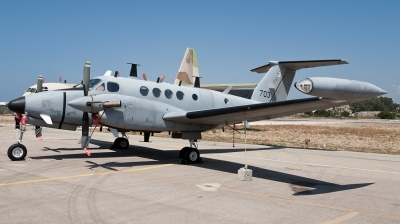 Photo ID 73098 by Andreas Zeitler - Flying-Wings. Israel Air Force Beech Super King Air 200T Zufit 5, 703