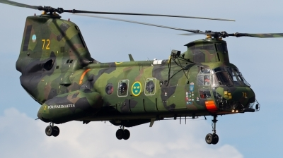 Photo ID 72956 by Andreas Zeitler - Flying-Wings. Sweden Air Force Kawasaki Boeing Vertol KV 107 Hkp 4C, 04072