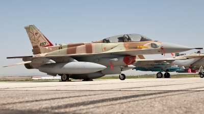 Photo ID 72953 by Andreas Zeitler - Flying-Wings. Israel Air Force Lockheed Martin F 16I Sufa Fighting Falcon, 497