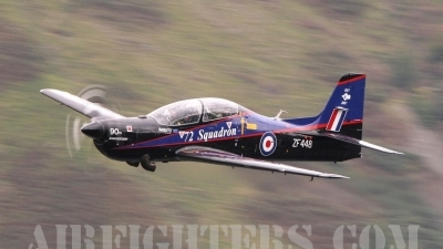 Photo ID 9193 by Paul Cameron. UK Air Force Short Tucano T1, ZF448