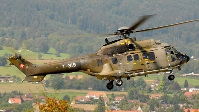 Photo ID 73877 by Martin Thoeni - Powerplanes. Switzerland Air Force Eurocopter AS 332M 1 Super Puma, T 319