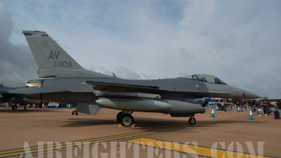 Photo ID 9249 by Chris Milne. USA Air Force General Dynamics F 16C Fighting Falcon, 89 2009