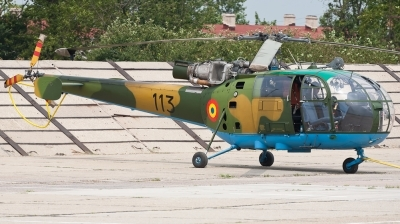 Photo ID 73898 by Andreas Zeitler - Flying-Wings. Romania Air Force IAR 316B Alouette III, 113