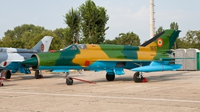 Photo ID 73795 by Andreas Zeitler - Flying-Wings. Romania Air Force Mikoyan Gurevich MiG 21M Lancer A, 9615