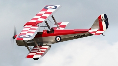 Photo ID 74519 by Neil Cotten. Private Shuttleworth Collection De Havilland DH 82A Tiger Moth, G ANKT