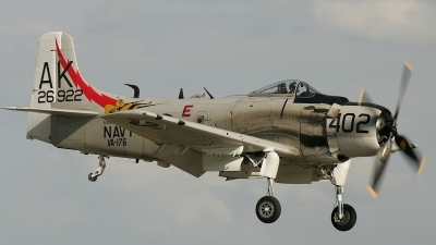 Photo ID 9345 by Christophe Haentjens. Private Private Douglas A 1D Skyraider AD 4NA, G RADR