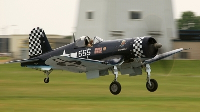 Photo ID 75324 by David F. Brown. Private Private Goodyear FG 1D Corsair, NX83JC
