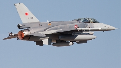 Photo ID 75394 by Alex van Noye. Turkey Air Force General Dynamics F 16D Fighting Falcon, 07 1015