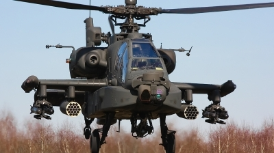 Photo ID 75643 by Jimmy van Drunen. Netherlands Air Force Boeing AH 64D Apache, Q 21