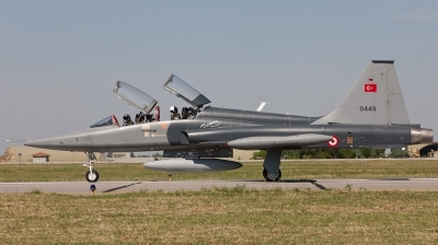 Photo ID 75973 by Andreas Zeitler - Flying-Wings. Turkey Air Force Northrop F 5B 2000 Freedom Fighter, 72 0449