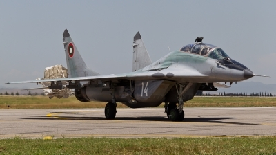 Photo ID 75979 by Andreas Zeitler - Flying-Wings. Bulgaria Air Force Mikoyan Gurevich MiG 29UB 9 51, 14