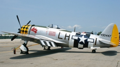 Photo ID 76098 by Misael Ocasio Hernandez. Private Private Republic P 47D Thunderbolt, NX1345B