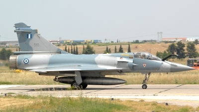 Photo ID 76703 by Peter Boschert. Greece Air Force Dassault Mirage 2000 5EG, 555