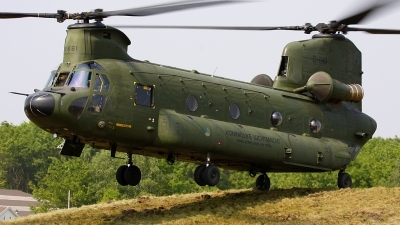 Photo ID 76270 by Robin Coenders / VORTEX-images. Netherlands Air Force Boeing Vertol CH 47D Chinook, D 661