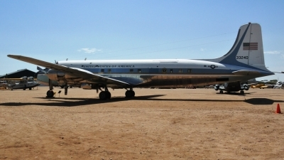 Photo ID 79125 by JUAN A RODRIGUEZ. USA Air Force Douglas VC 118A Liftmaster DC 6A, 53 3240