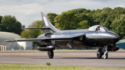 Photo ID 76585 by Bob Wood. Private Viper Team Hawker Hunter PR11, G PRII