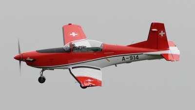 Photo ID 76704 by Martin Thoeni - Powerplanes. Switzerland Air Force Pilatus NCPC 7 Turbo Trainer, A 914