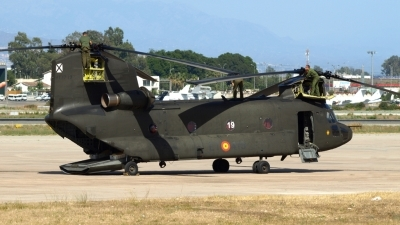 Photo ID 76775 by Manuel Fernandez. Spain Army Boeing Vertol CH 47D Chinook, HT 17 19