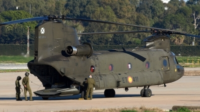 Photo ID 76797 by Manuel Fernandez. Spain Army Boeing Vertol CH 47D Chinook, HT 17 11