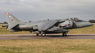 Photo ID 76881 by Chris Lofting. UK Air Force British Aerospace Harrier GR9A, ZD347