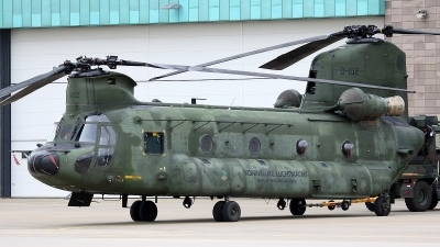 Photo ID 77032 by Mark Broekhans. Netherlands Air Force Boeing Vertol CH 47D Chinook, D 102