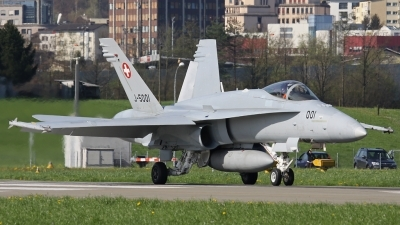 Photo ID 77160 by Andreas Weber. Switzerland Air Force McDonnell Douglas F A 18C Hornet, J 5001