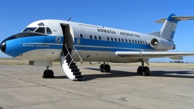 Photo ID 9764 by Martin Otero. Argentina Navy Fokker F 28 3000C Fellowship, 0741