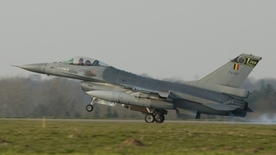 Photo ID 977 by David Skeggs. Belgium Air Force General Dynamics F 16AM Fighting Falcon, FA 121