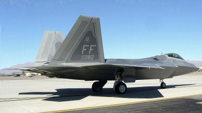 Photo ID 77957 by Peter Boschert. USA Air Force Lockheed Martin F 22A Raptor, 04 4082