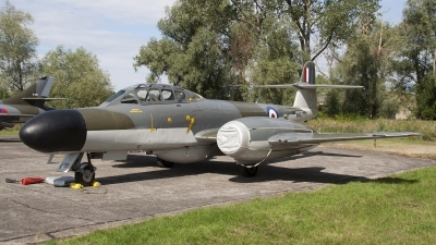 Photo ID 78582 by Niels Roman / VORTEX-images. Private Private Gloster Meteor NF 11, G LOSM