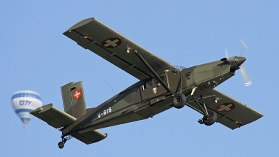 Photo ID 78425 by Andreas Weber. Switzerland Air Force Pilatus PC 6 B2 H2M 1 Turbo Porter, V 616