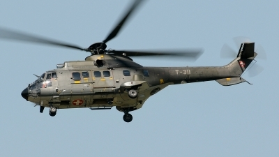 Photo ID 78418 by Martin Thoeni - Powerplanes. Switzerland Air Force Aerospatiale AS 332M1 Super Puma, T 311