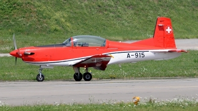 Photo ID 78493 by Martin Thoeni - Powerplanes. Switzerland Air Force Pilatus NCPC 7 Turbo Trainer, A 915