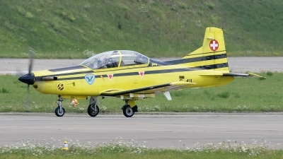 Photo ID 78576 by Martin Thoeni - Powerplanes. Switzerland Air Force Pilatus PC 9, C 411
